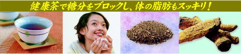 サラシア、杜仲茶配合のメタボ対策の健康茶