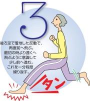 骨粗しょう症予防体操3